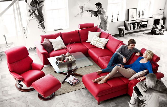 Red Sofa for the modern you