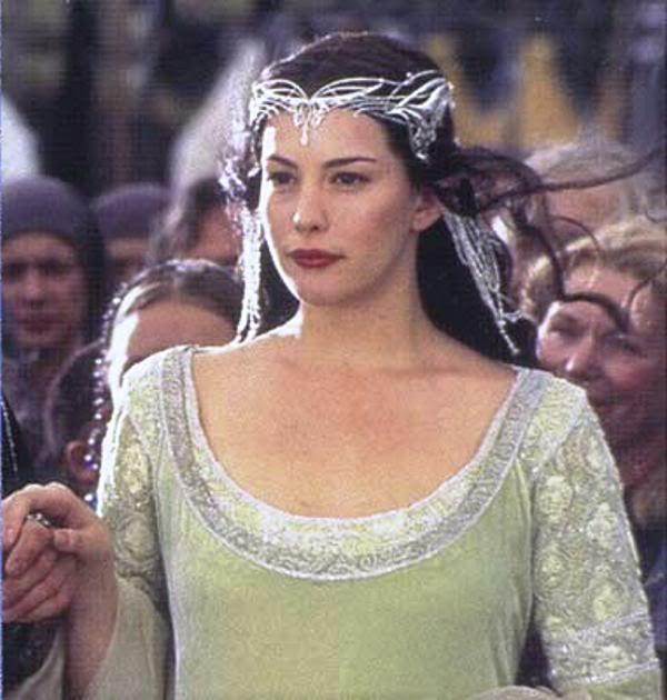 Aragorn and arwen wedding think