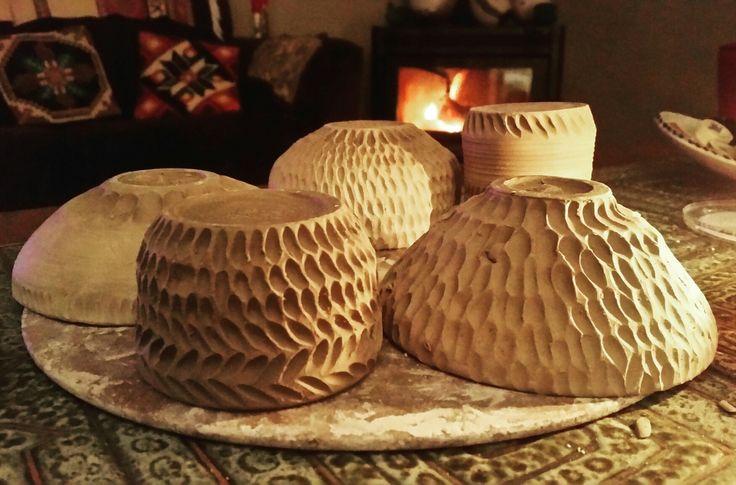 Clay Bowls Drying https://www.etsy.com/nz/shop/KatieJenssenCeramics