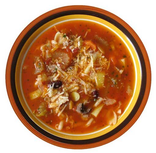 New recipe from our food columnist Sloane Taylor - Minestrone (Vegetable) Soup #food #vegetarian #soup