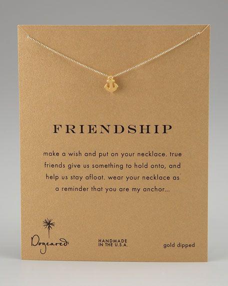 a cute best friend necklace :)