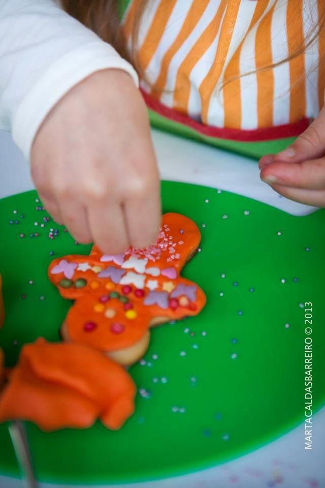 Christmas cookies workshop: a partnership between
