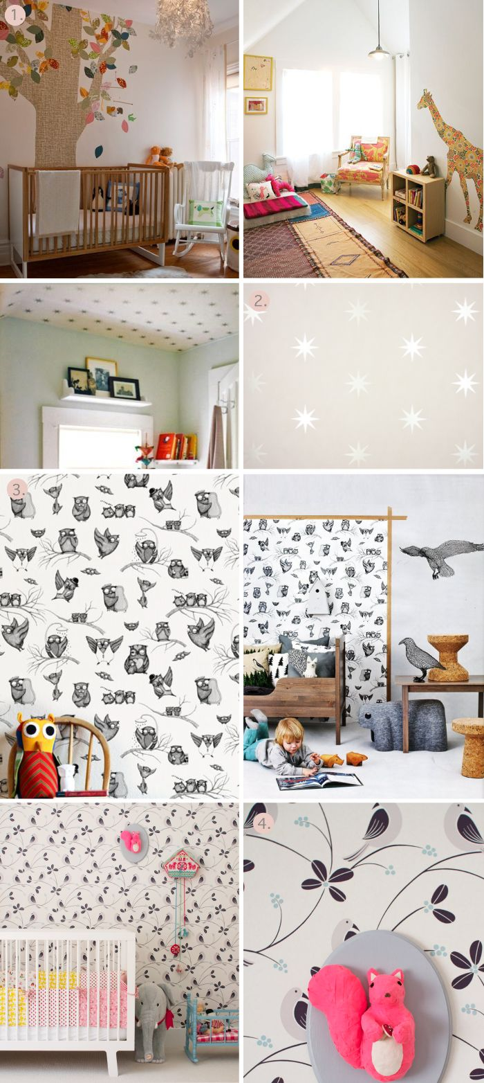 Wallpaper for our little one's bedroom
