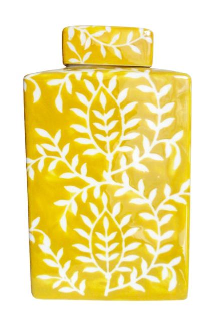yellow ceramic - Querido Homestyling Store - www.lojaquerido.com