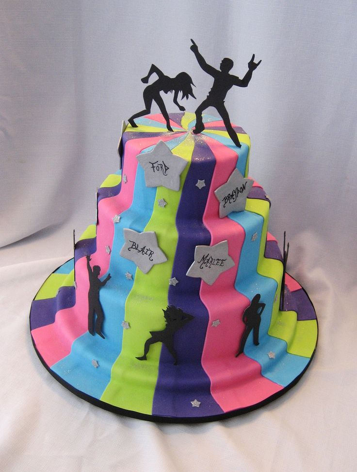 Dance Party Cake Images : 75 best images about Dance & Music cake on Pinterest