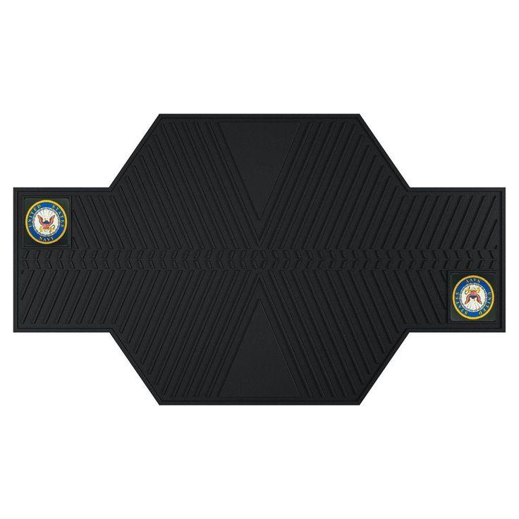 U.S. Navy Motorcycle Mat