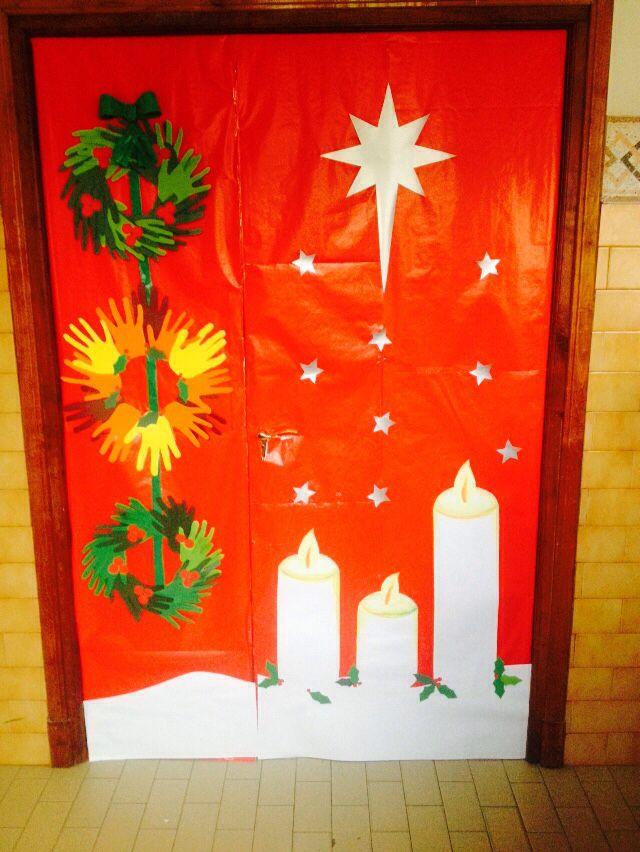 Proyecto de pl stica en sexto de primaria puertas for Puertas decoradas navidad material reciclable