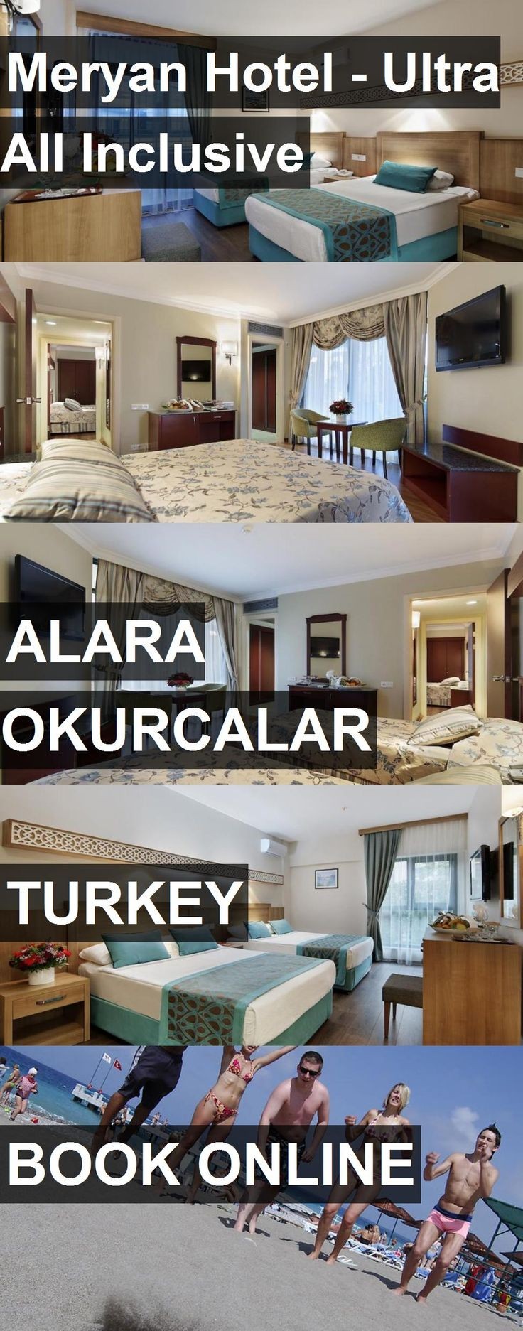 Meryan Hotel - Ultra All Inclusive in Alara Okurcalar, Turkey. For more information, photos, reviews and best prices please follow the link. #Turkey #AlaraOkurcalar #travel #vacation #hotel