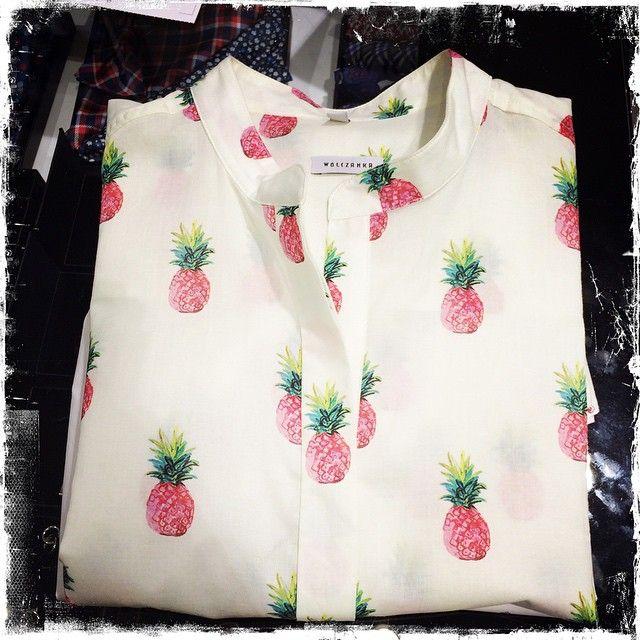 pineapple shirt #wolczanka #pineapple #shirt #spring #wardrobe #fashion