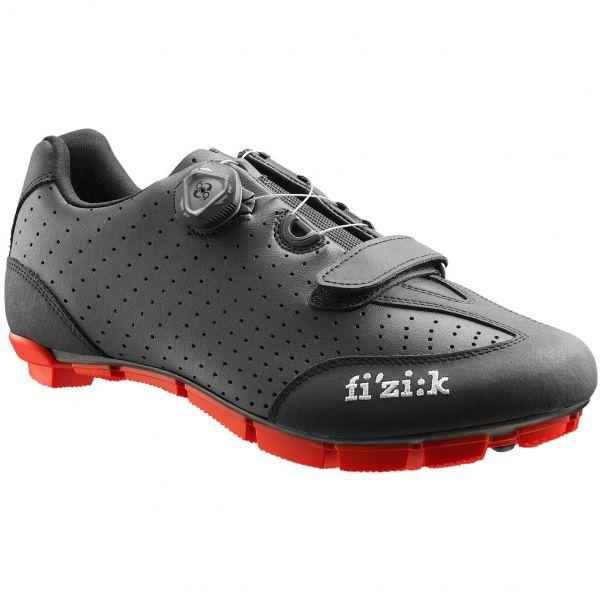 Chaussures VTT FIZIK M3B Noir/Rouge 2016 - Probikeshop