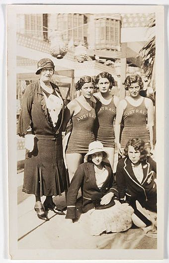 Australian swimmers - 1932 Olympics