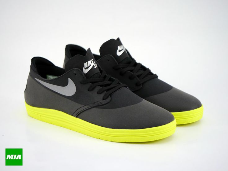Lunar Oneshot QS Black/Reflect Silver-Volt. Running Shoes NikeNike ...