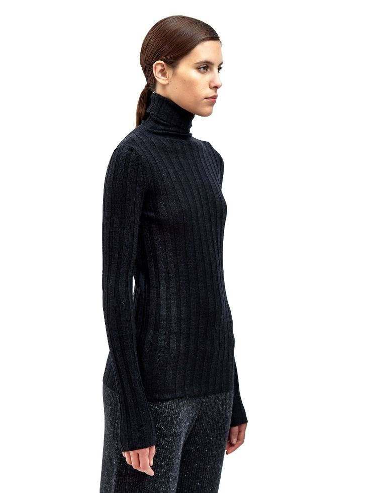 black-womens-turtle-neck-knit-sweater-