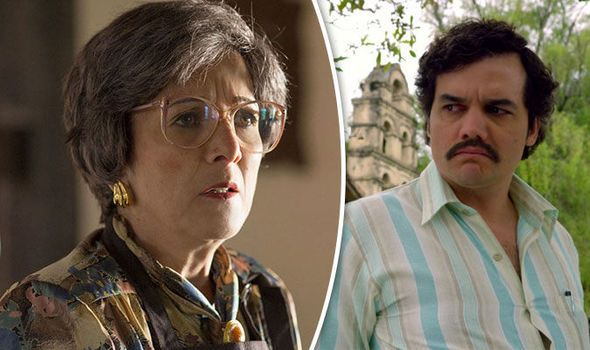 The mother of Narcos' Pablo Escobar looks VERY different in real ...