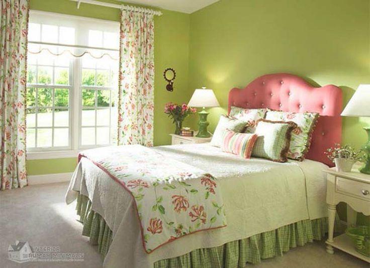 Interior Design Bedroom Green shades of green for bedroom | home decorating, interior design