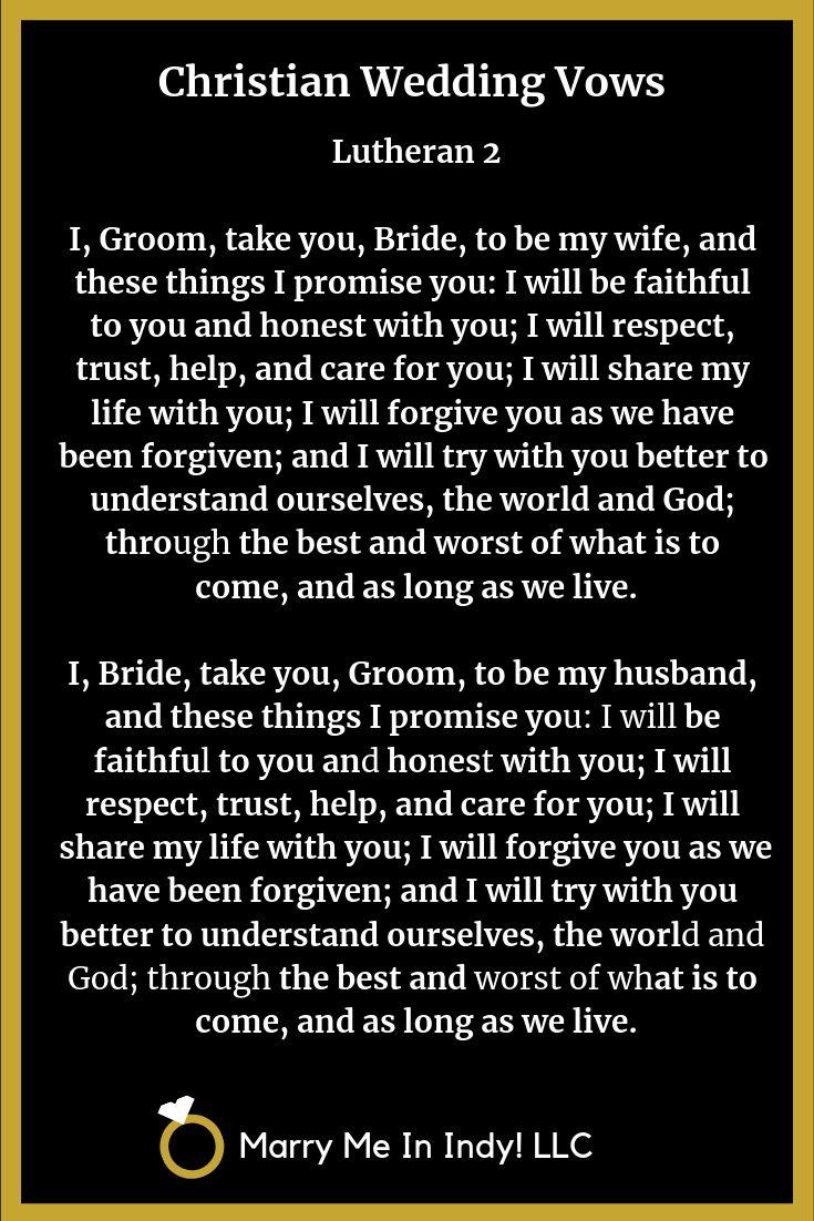 Pin On Christian Wedding Vow Ideas