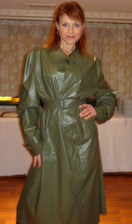 Debbie in her Green Klepper Mack