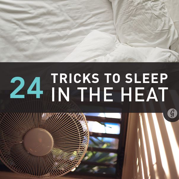24 Tricks to Survive Hot Summer Nights (Without AC) > These helps are quite practical and easy.