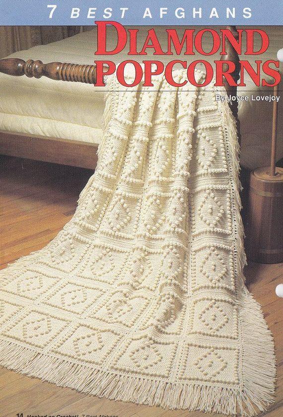 💑 7 Melhores Padrões Afegãos Crochê -  /  💑 7 Best Afghans Crochet Patterns -