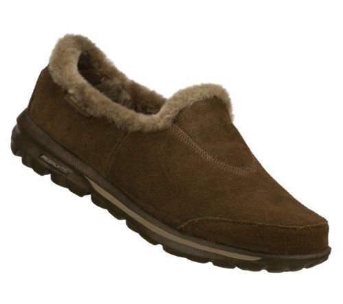 Skechers Go Walk Toasty Womens Walking Shoes Chocolate loveeeeee