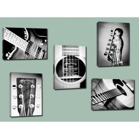 New guitar photography prints from Doodlefish...great for the your musician, playroom or basement.