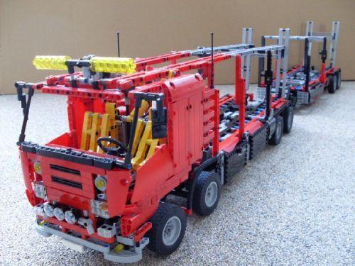 Car-Transporter: A LEGO® creation by techn0m0ves . : MOCpages.com