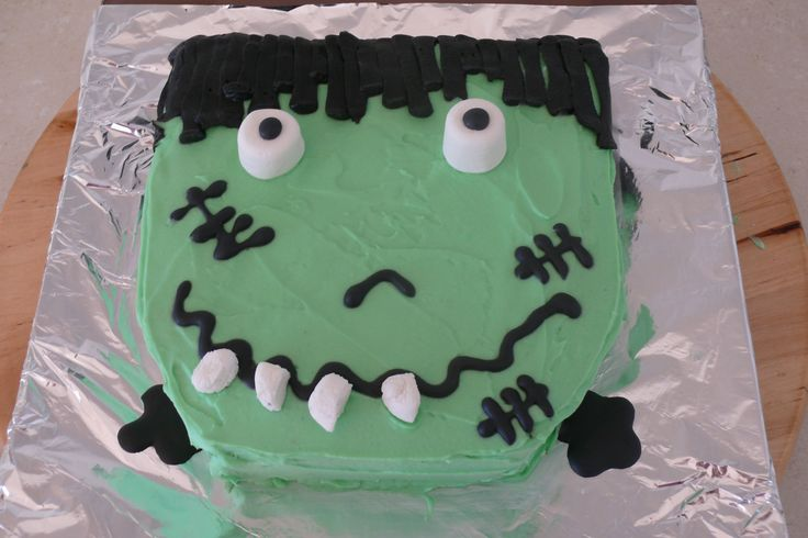 Quickly eat this gluten free Frankenstein cake before he eats you! Order online today at glutenfreecakenation.com.au