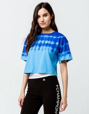 2474b56f CHAMPION Streak Dye Womens Crop Tee   Wardrobe: Dance Class in 2019 ...