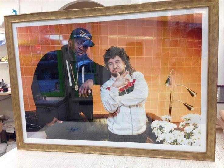 Lilla Al Fadji & 50 Cent original fotografi på Tradera.com -