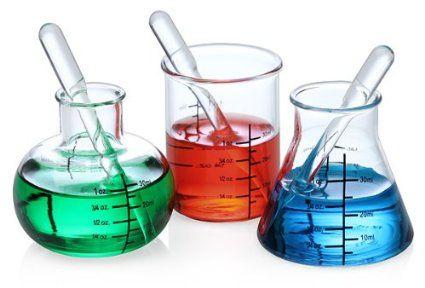 ThinkGeek Laboratory Shot Glasses: Chemistry Shot Glass: Amazon.com: Industrial & Scientific