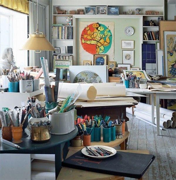 Bjorn Winblad's studio