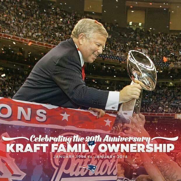 New England Patriots -- Robert Kraft