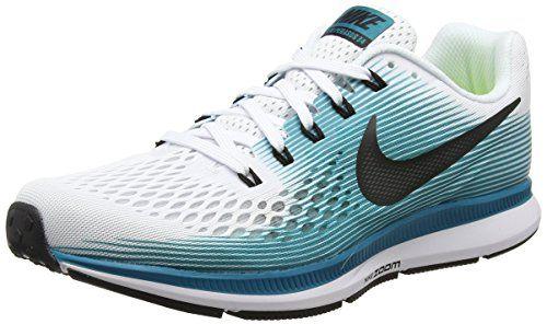 buy online 6d363 d52f1 Nike Mens Air Zoom Pegasus 34 White Black Blustery 880555101 ...