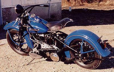 1947 Harley-Davidson Knucklehead Left Side