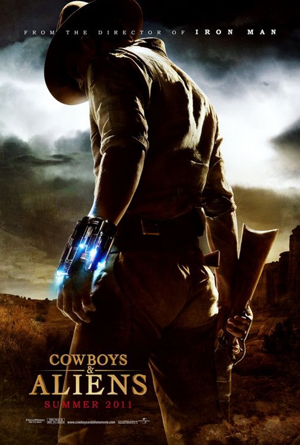 Movie Poster Designs - Cowboys and Aliens