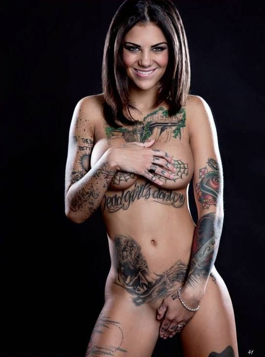 Hdvpass tatted babe bonnie rotten rides huge cock outdoors 4
