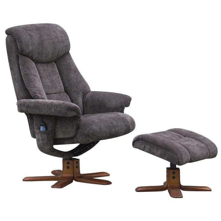 Exmouth Fabric Massage Swivel Recliner Chair and Footstool u2013 Next Day Delivery Exmouth Fabric Massage Swivel  sc 1 st  Pinterest & Best 25+ Swivel recliner chairs ideas on Pinterest | Beach style ... islam-shia.org