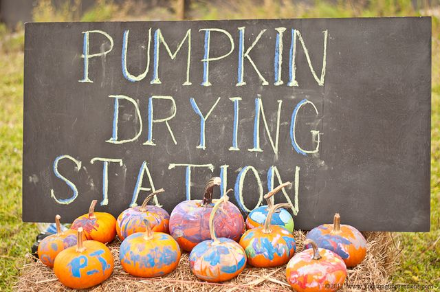 "Photo 27 of 45: Fall / Thanksgiving/Fall ""Pumpkin Patch Painting"" 