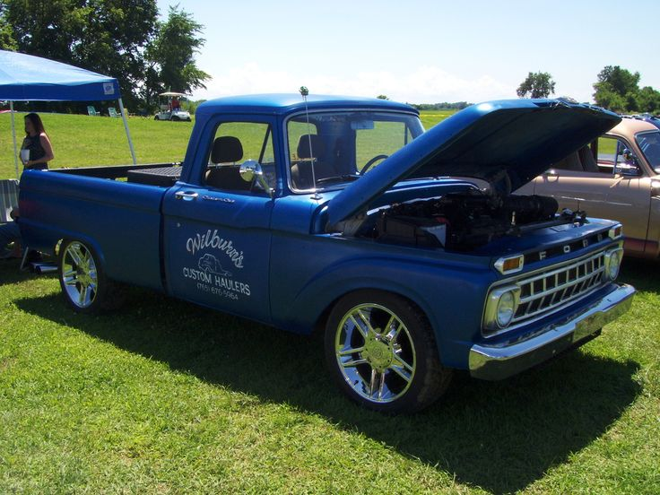 1965 Ford F100 | 1965 Ford F100 (fitted with 2003 F150 Drive… | Flickr