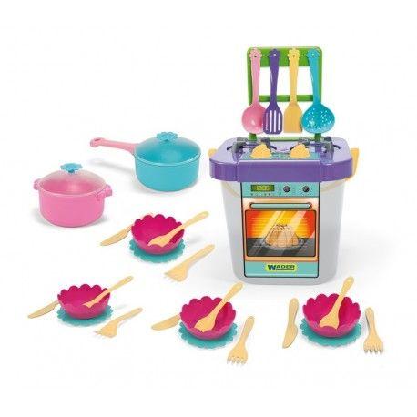 31 Elementowy Zestaw Wader 24150 - Kuchnia z Akcesoriami do Zabawy w Gotowanie dla Dzieci od lat 3.  Dziewczynki chętnie naśladują swoje Mamy, a jedną z ich ulubionych zajęć jest zabawa w gotowanie.  Zestaw zapewni wiele godzin dobrej zabawy.  Sprawdźcie sami:)   Miłego Weekendu:)  http://www.niczchin.pl/zabawki-wader/2843-wader-24150-kuchnia-z-akcesoriami-31el.html  #zabawkiwader #kuchniadladzieci #zabawawgotowanie #prezentdladziewczynki #zabawki #niczchin #kraków