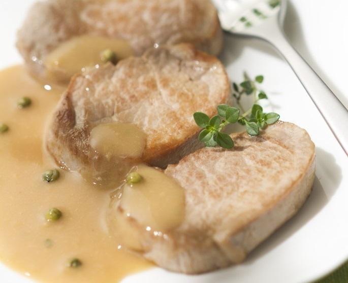 Filet mignon aux poivres et ses l gumes croquants - Cuisiner filet mignon ...