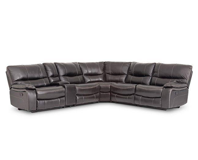 Aviator 6 Pc Sectional Furniture Row Rowe Furniture