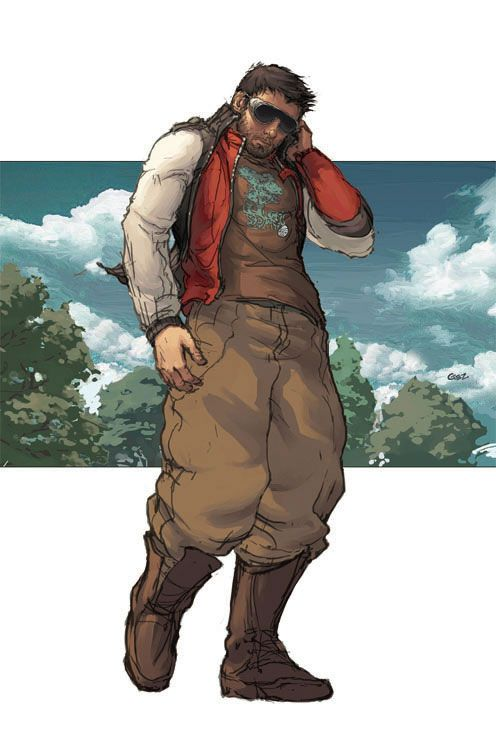FryGez-Manga-Asia-Japanese-Art-Prints-Advertising-Storyboards-Comic-Character-Fantasy-Digital-spiritman-L.jpg (496×751)