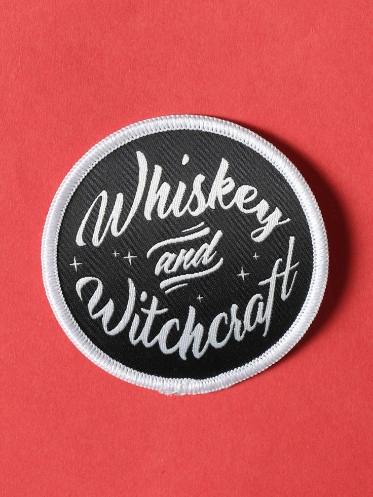 Whiskey And Witchcraft Patch - Gypsy Warrior