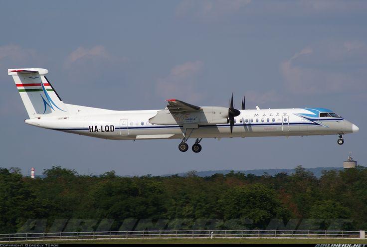 Malev - Hungarian Airlines HA-LQD De Havilland Canada DHC-8-402Q Dash 8 aircraft picture