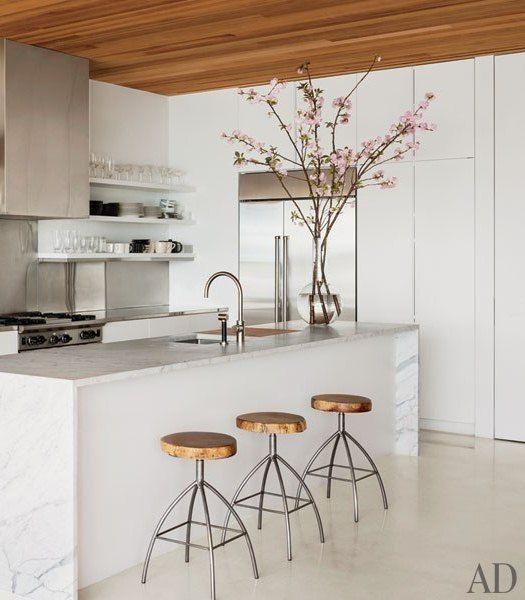 25 beste idee n over witte marmeren keuken op pinterest marmeren aanrechtbladen boeren - Keukenmeubelen rustiek ...