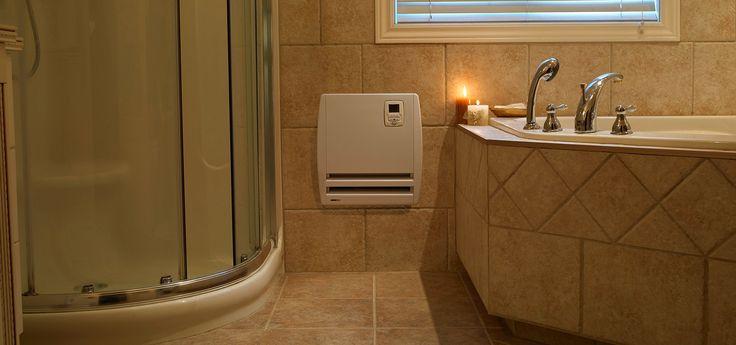 Le Piccolo est lu0027appareil soufflant le plus mince de Convectair Une - radiateur electrique soufflant mural salle de bain noirot