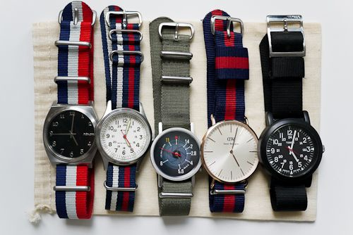 Some fun watches: Fashion Watches, Vintage Watches, Women Accessories, Watches Bands, Bands Of Brother, Watches Menswear, Menswearinspir Watches, Watches Straps, Men Watches