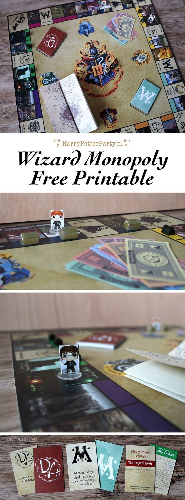 Jullie hebben het al een tijdje kunnen volgen op Instagram, maar eindelijk is de HarryPotterParty Wizard Monopoly klaar! In dit bericht lees je precies hoe je je eigen Harry Potter Monopoly spel ku…
