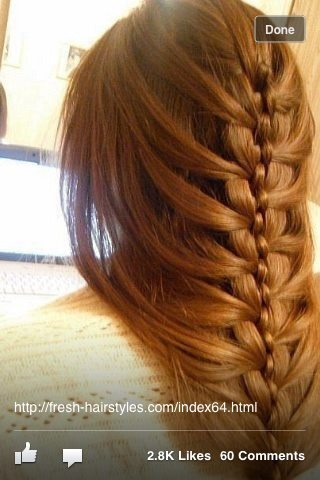 4 strand mermaid braid!! so have been wanting to try this!!!
